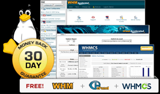 Free WHM, cPanel and WHMCS