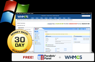 Free Parallels Panel and WHMCS